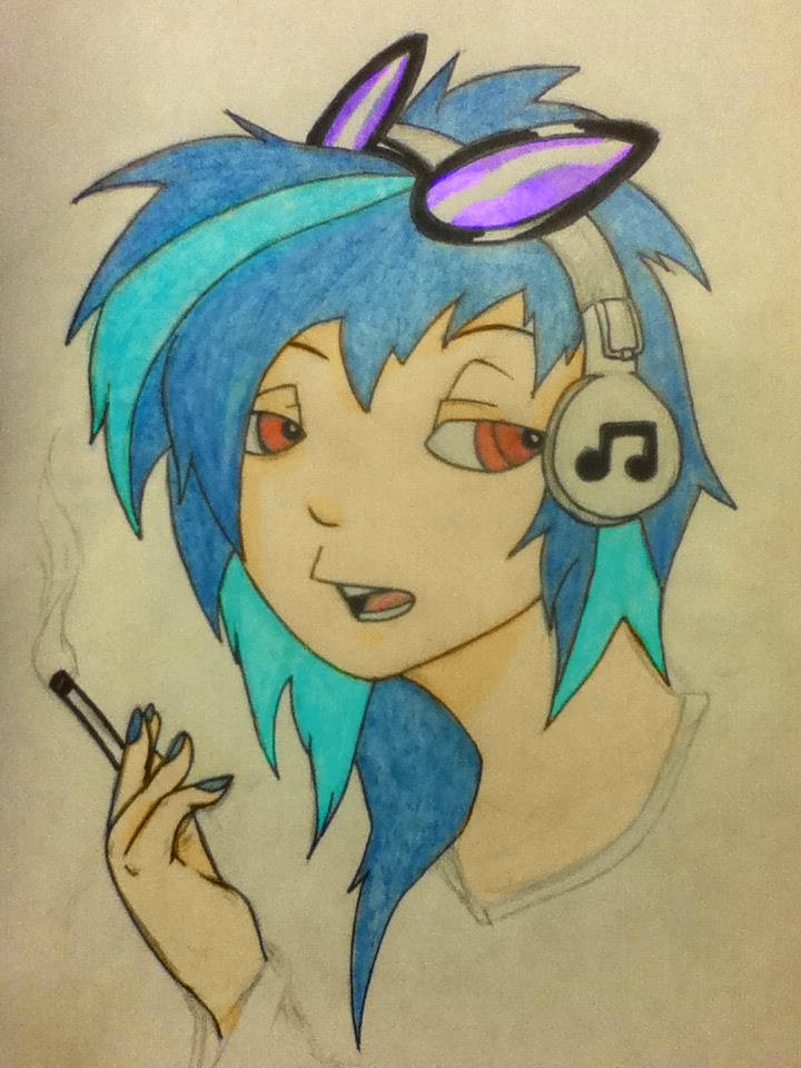 Vinyl Scratch by bigdaddyred