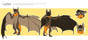 [NOT MY ART][REF Fursona]Lacke Bat by LackeDragon