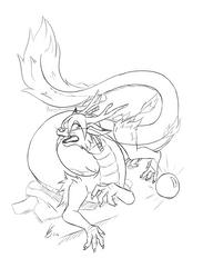 [Eastern Dragon TF]  Magic dragon orb by LackeDragon