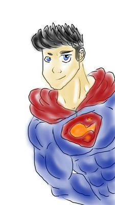 My version of Superman in colour