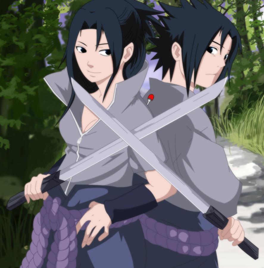 Naruto Naruto Shippuuden Sasuke: Naruto Shippuden : Sasuke And Sasuko By Suwiwitwicky46 On