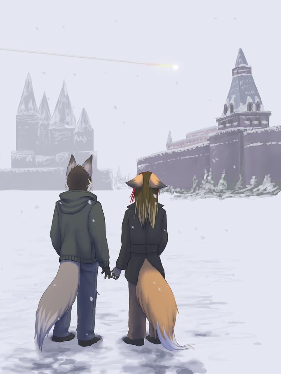 Frozen by Foxxie-Angel