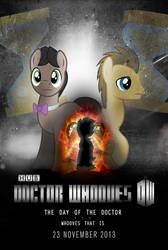 Day of the Doctor (Whooves that Is) Poster by sitrirokoia