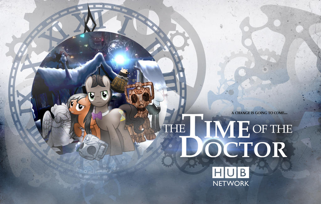 Time Of The Doctor (Whooves Xmas Wallpaper) by sitrirokoia