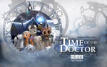 Time Of The Doctor (Whooves Xmas Wallpaper) by BasedVulpine