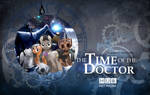 Time Of The Doctor (Whooves Xmas Wallpaper) DARK by BasedVulpine