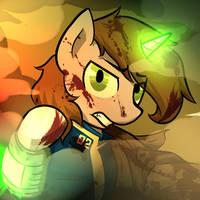 #Hellmare (Littlepip Icon Post Arbu)