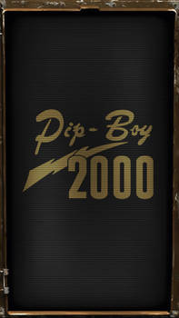 Pipboy 2000 Classic (Amber)