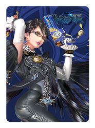 Bayonetta P1 Amiibo Card