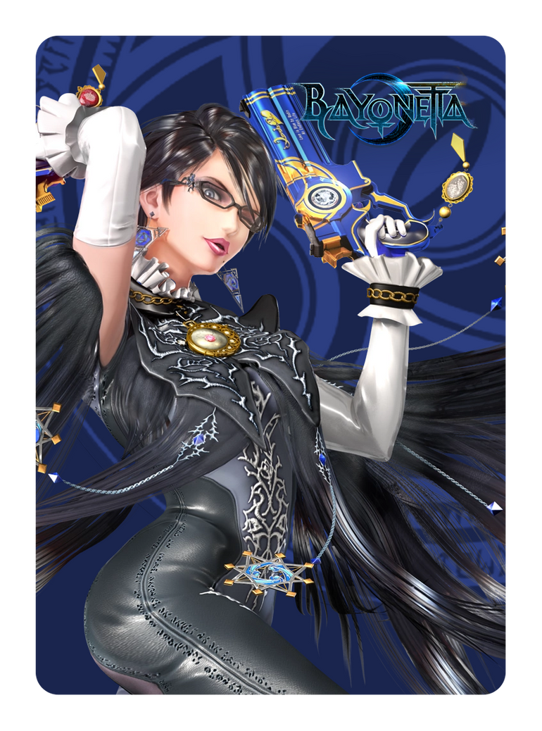 Bayonetta P1 Amiibo Card by sitrirokoia on DeviantArt