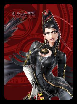 Bayonetta P2 Amiibo Card