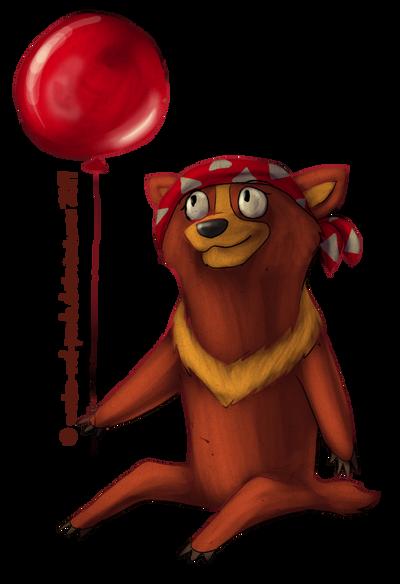 Rimma balloon by Zhucha