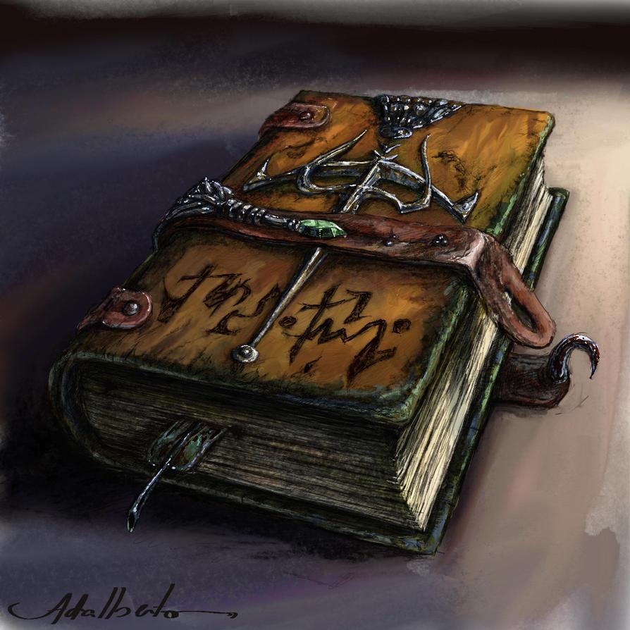 Deviantart Fantasy Book Cover ~ Mystic book by adalbertofsouza on deviantart