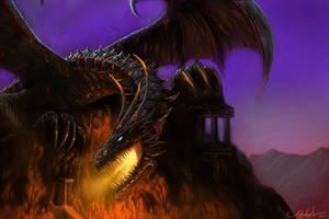 Dragon King by Adalbertofsouza