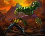 Hulk x Wolverine by Adalbertofsouza