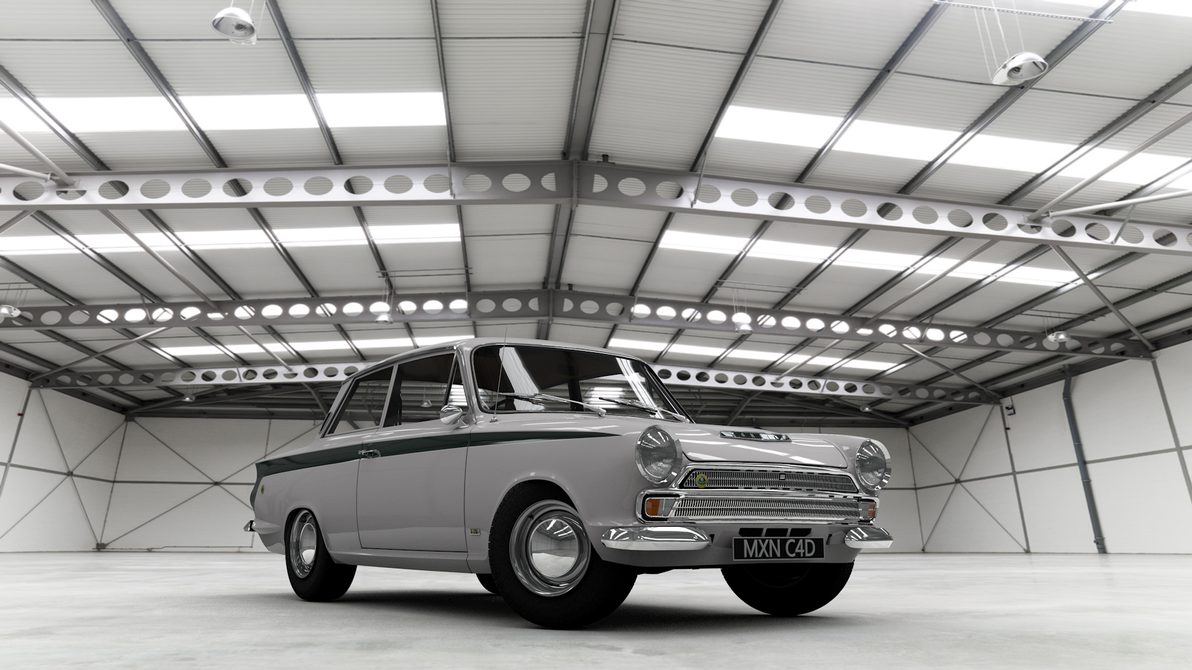 1966 Lotus Cortina by ProRipp