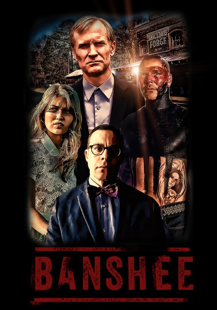 Banshee Villains Poster by ProRipp