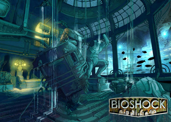 Bioshock Environment Concept 1 By Gamerjohn07 On Deviantart