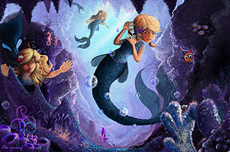 Mermaid by olayousef2000