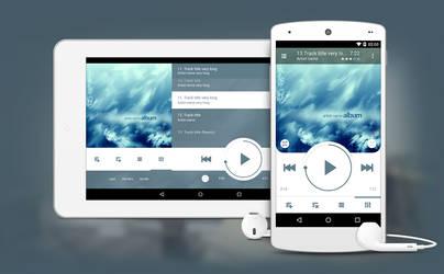 NRG Player for tablets