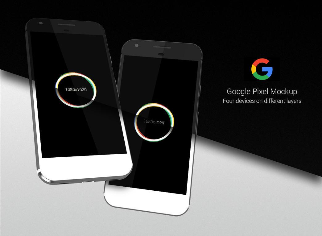 Google Pixel Mockup Free by slaveoffear