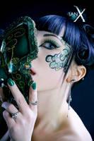 Jade Empress of Masks - I by IanStruckhoff