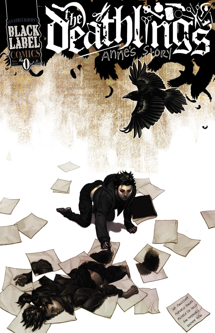 Deathlings no. 0 Cover