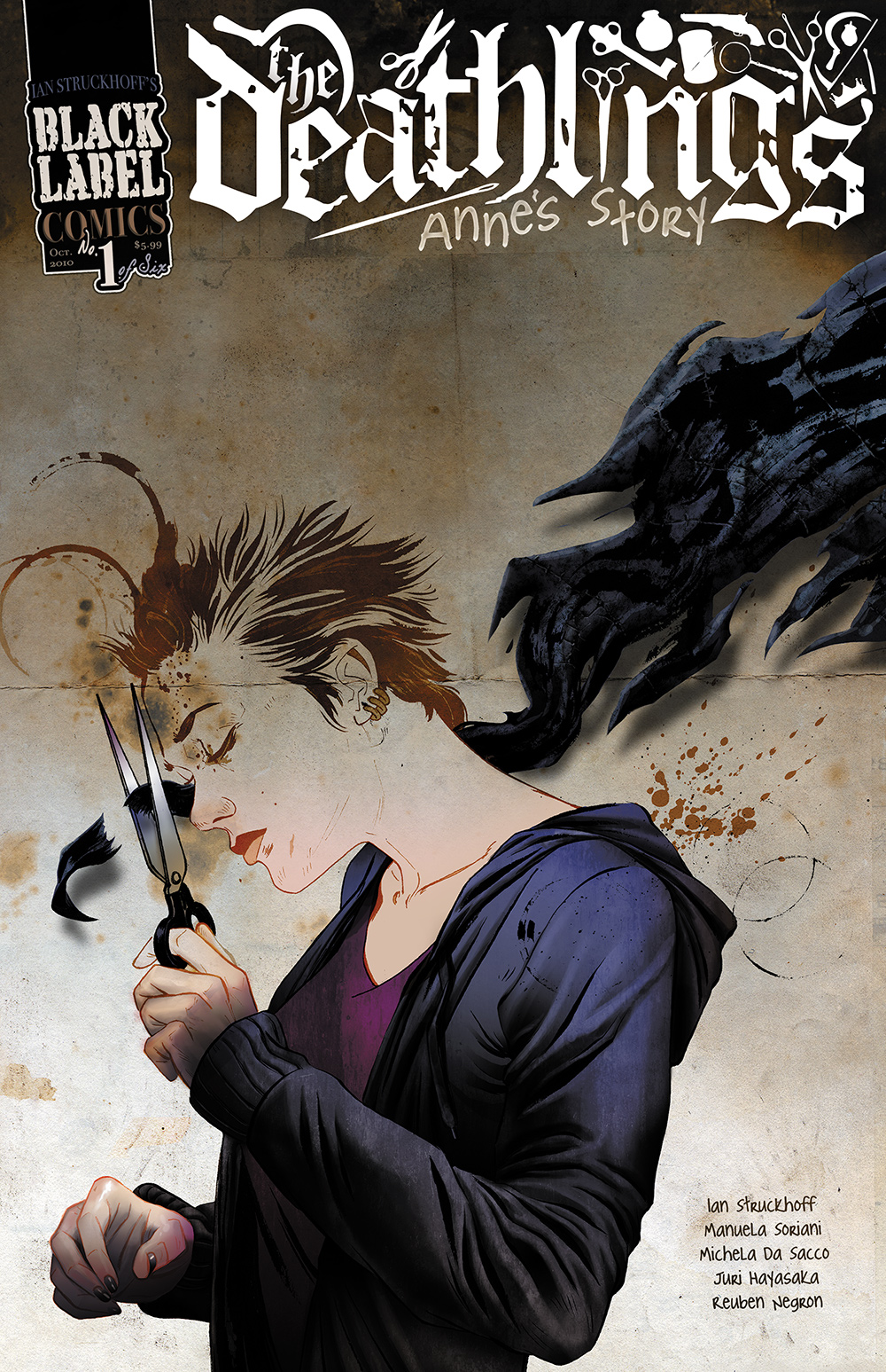 Deathlings no. 1 Cover