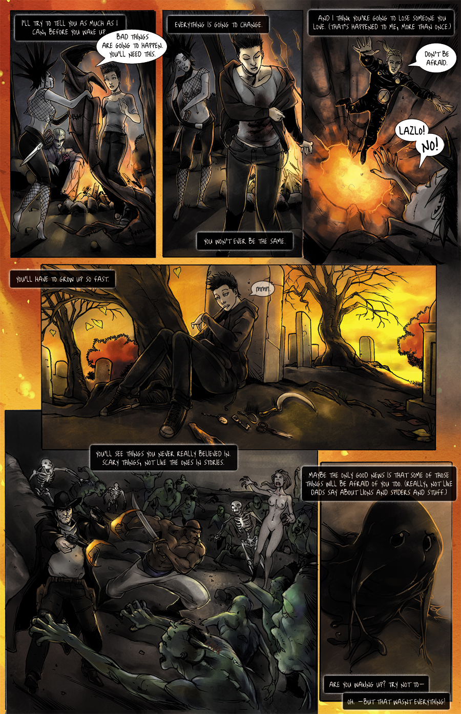 Deathlings Issue 0 p. 3