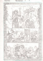 Black Label pg. 1 pencils by IanStruckhoff