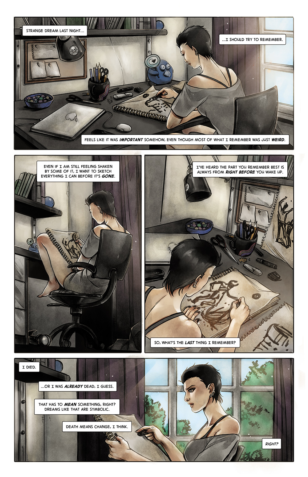 Anne's Story - no. 1 p. 1