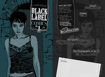 NYCC 2010 Black Label Mini by IanStruckhoff