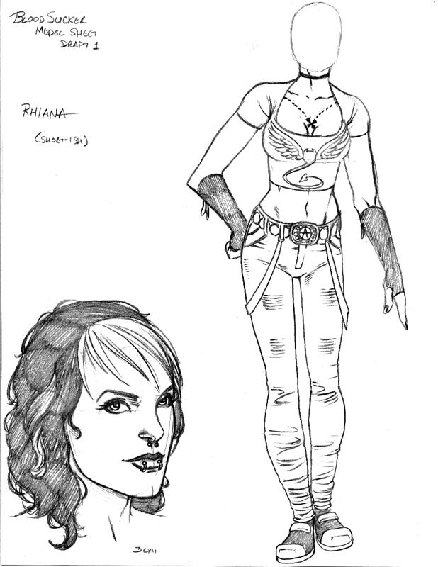 Bloodsuckers Design: 'Rhiana' by IanStruckhoff