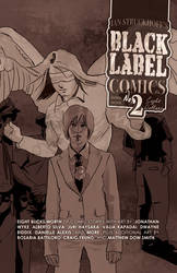 Black Label Comics no. 2 by IanStruckhoff