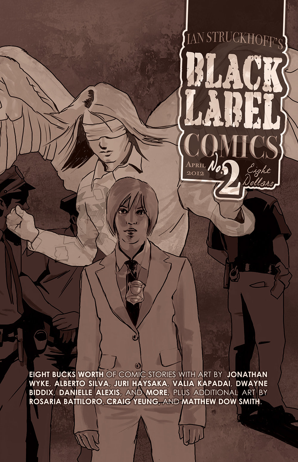 Black Label Comics no. 2 by IanStruckhoff