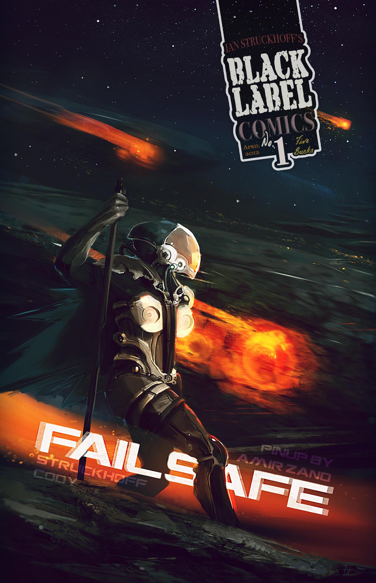 FAILSAFE pin-up by Amir Zand