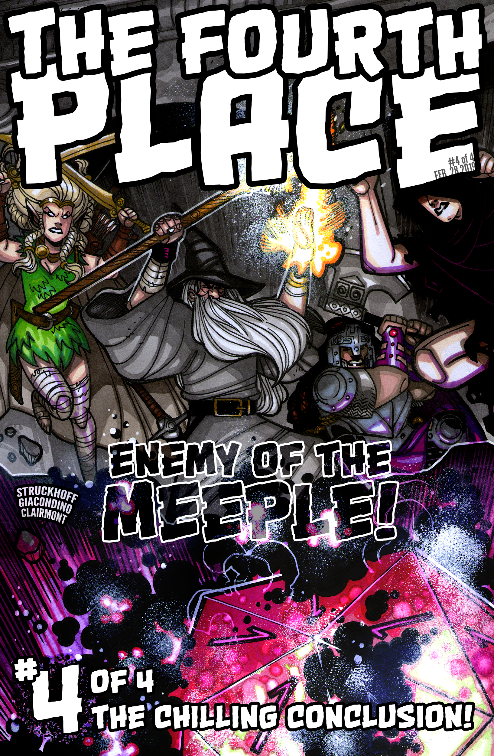 The Fourth Place Comic Mockup