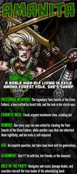 Amanita, high-elf ranger by IanStruckhoff
