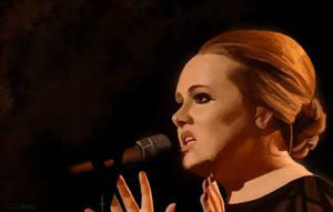 Adele Portrait by SeventhTower