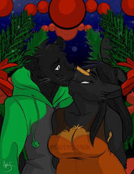 A Panther and a Wolf in love