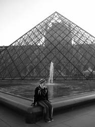 The Louvre by fuzzpooh