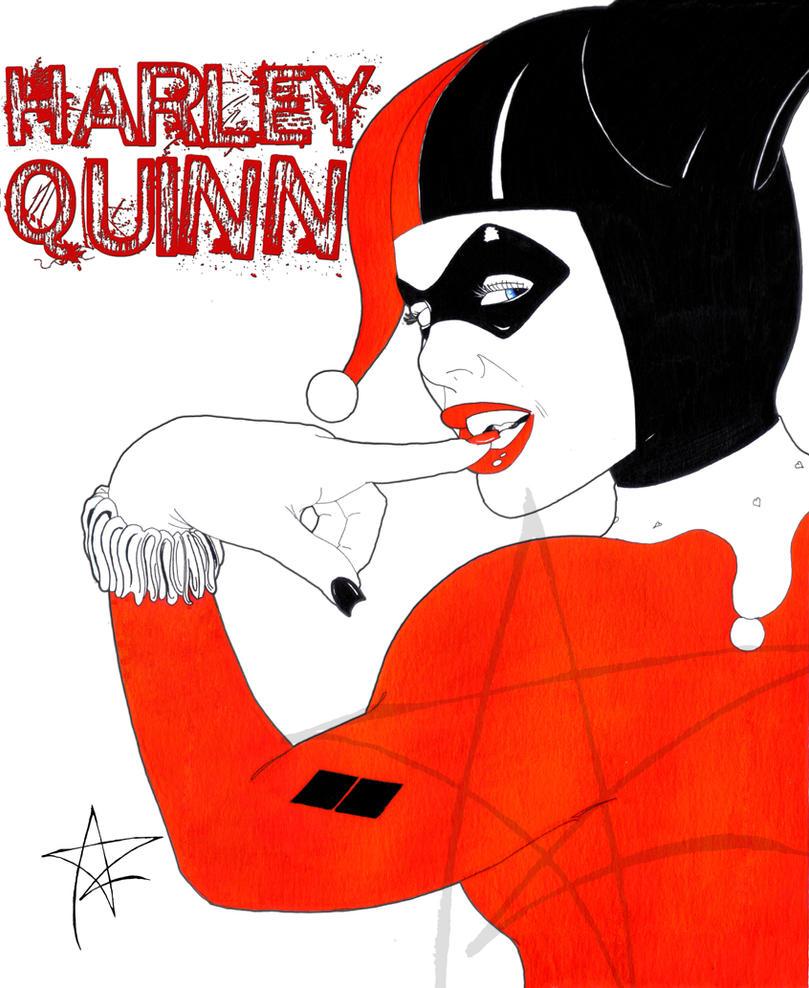 Harley Quinn by AzrielMordecai