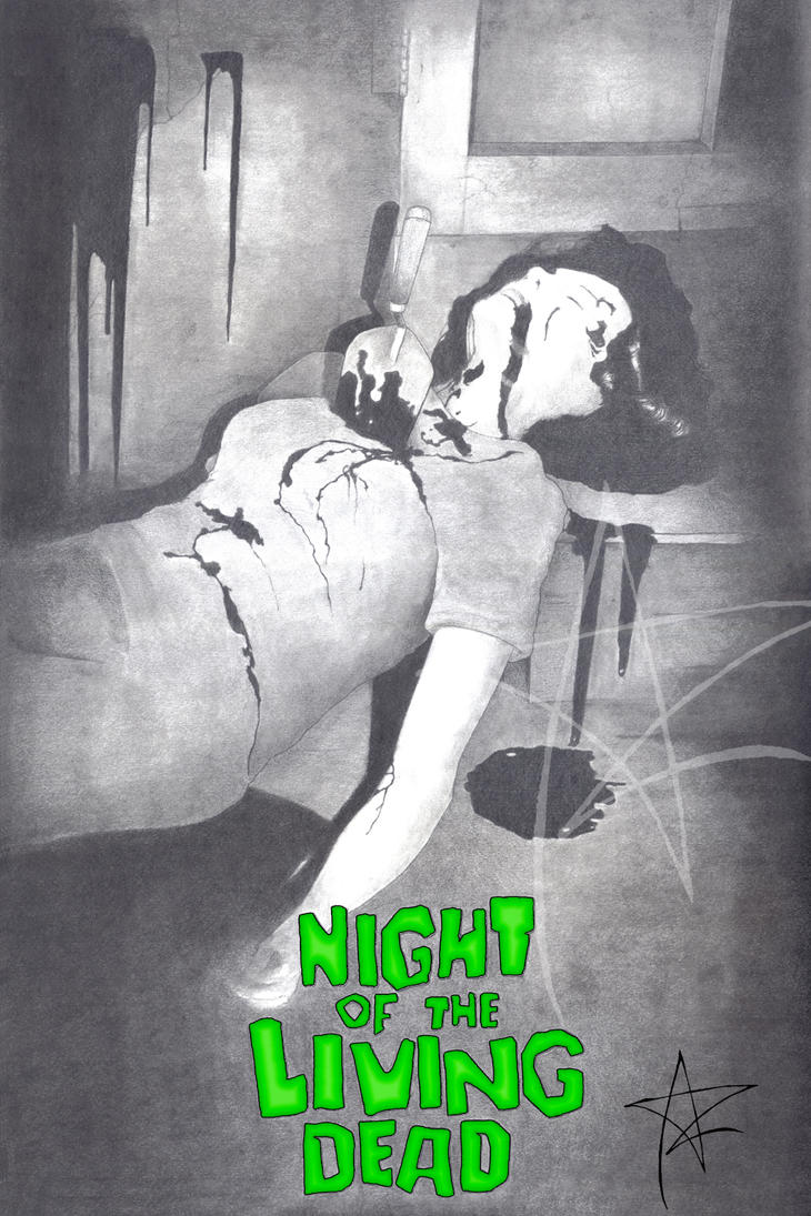 Night of the Living Dead (Mrs. Cooper) by AzrielMordecai