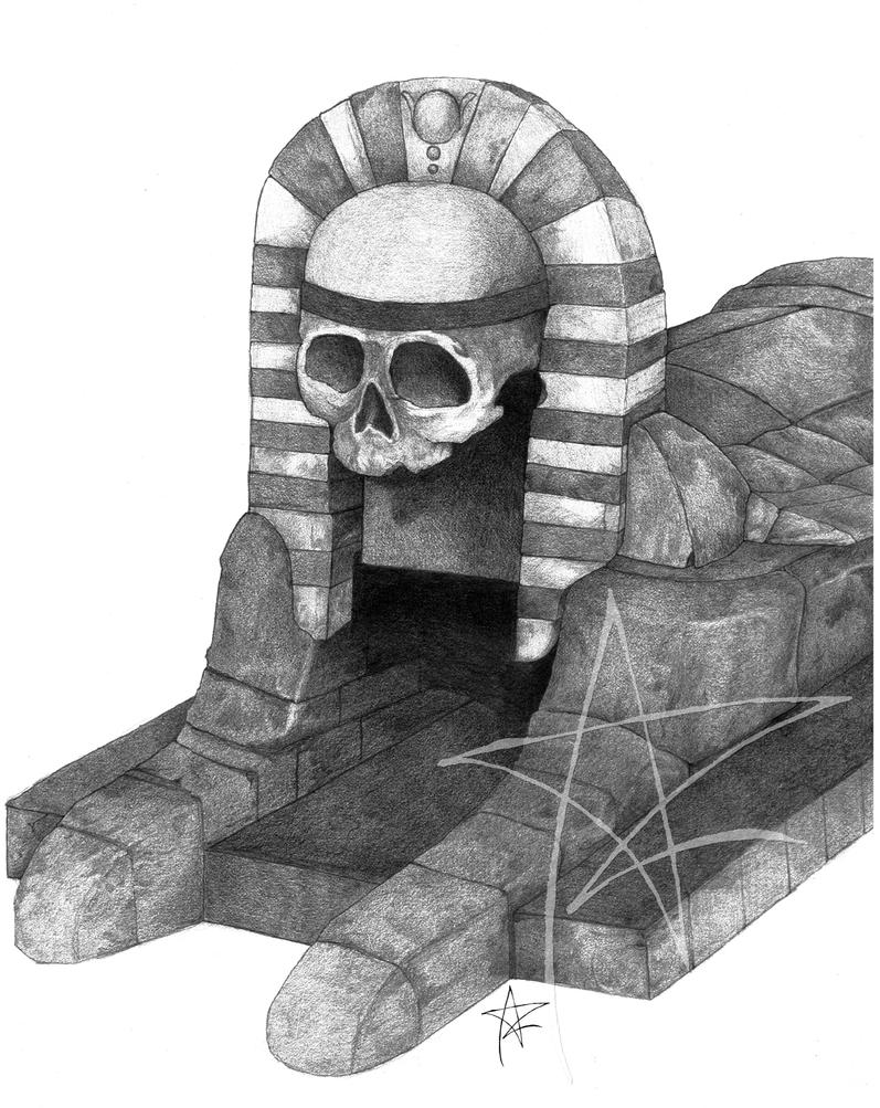 Tomb Kings temple by AzrielMordecai