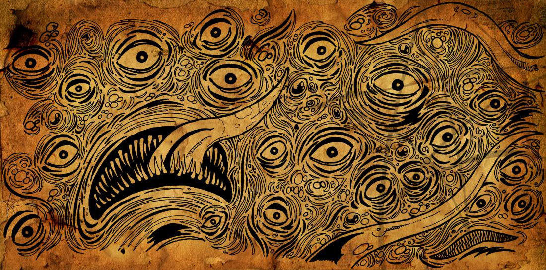 The Shoggoth by AzrielMordecai