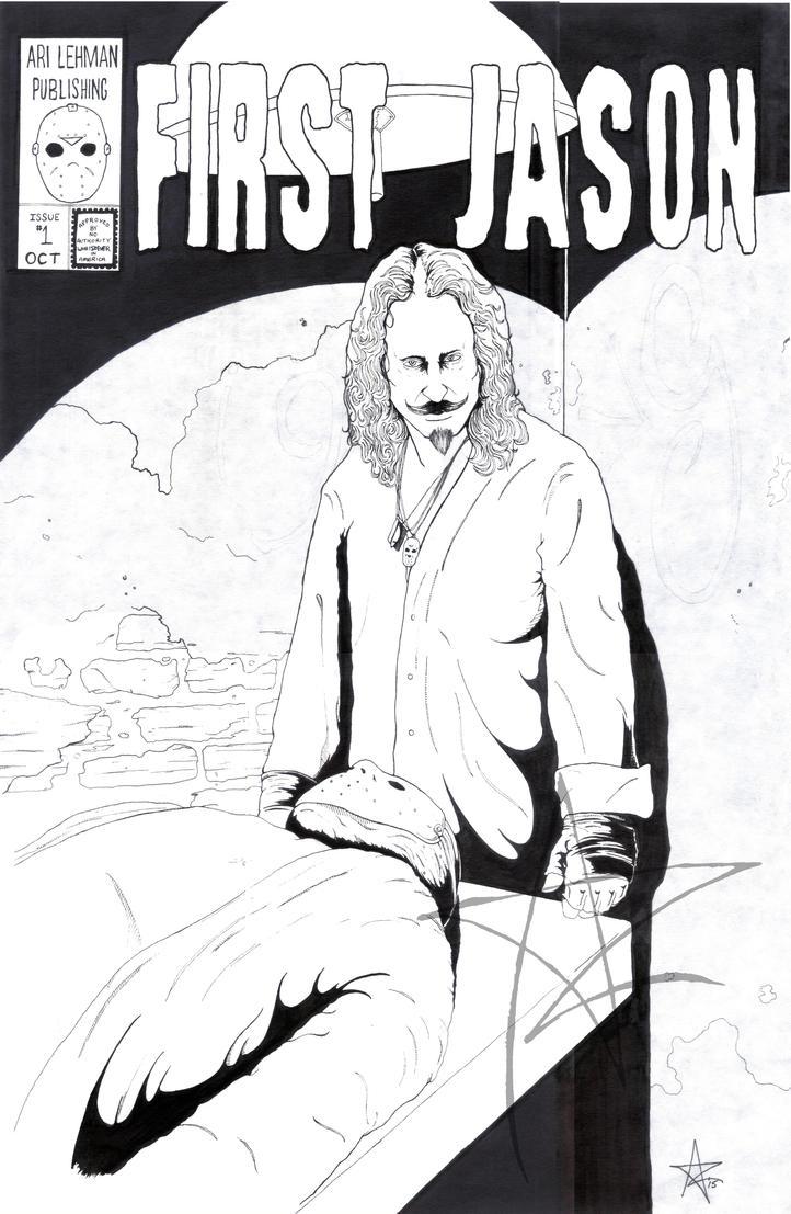 First Jason (Inks) by AzrielMordecai