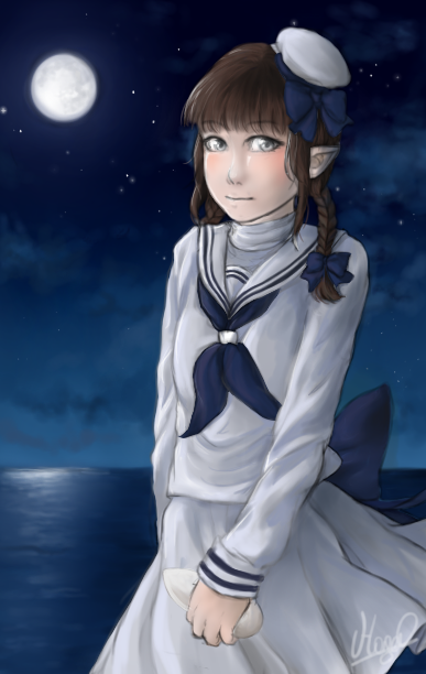 Wadanohara and the Great Blue Sea by HagelUsagi