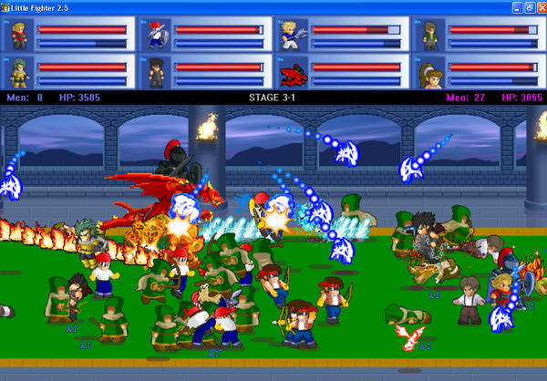 Download Games Little Fighter 3 Turbo