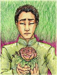 Weishu Rose by Laleira-Granite