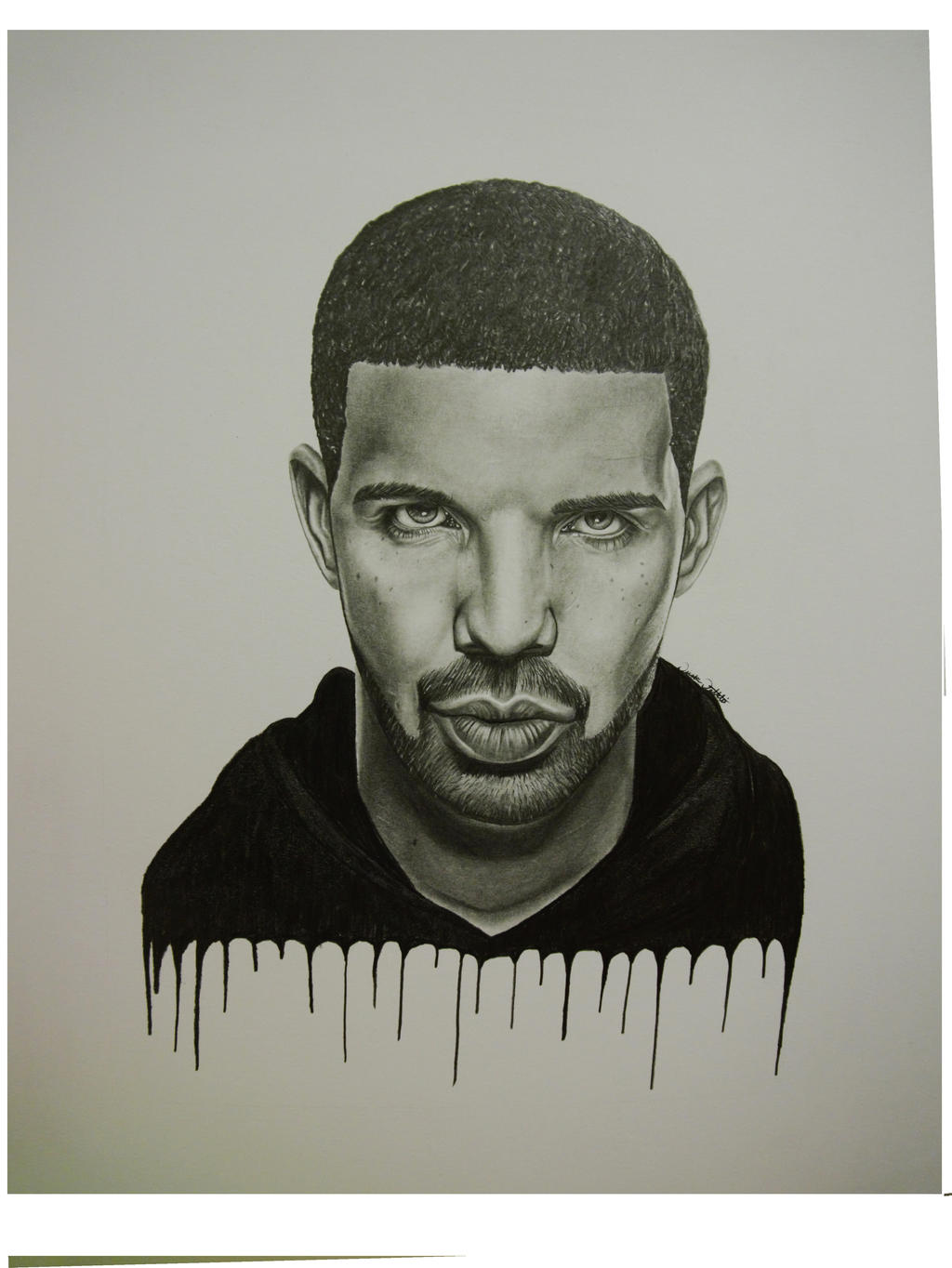 Drake drawing rapper the image kid has it for The drake